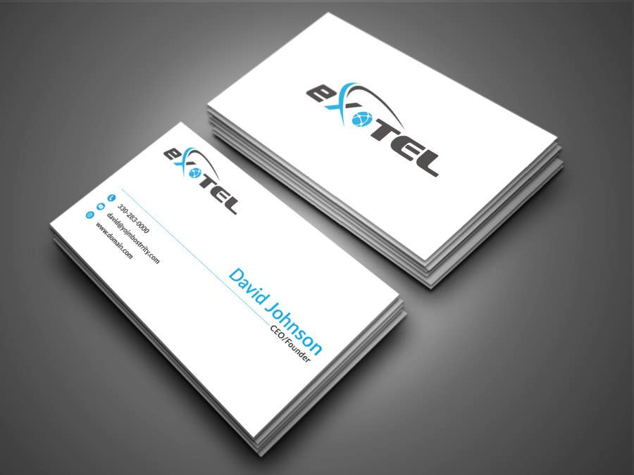 Entry 28 by designdr15 for exotel logo design business card contest entry 28 for exotel logo design business card letterhead reheart Gallery