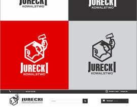 #37 for Zaprojektuj identyfikację JURECKI - KOWALSTWO | LOGO | LOGOTYP by Hobbygraphic