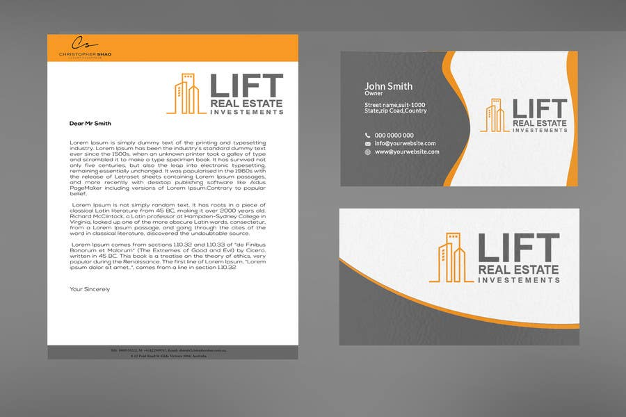 Entry 77 by sujan18 for design some business cards and letterhead contest entry 77 for design some business cards and letterhead for a real estate investment reheart Gallery