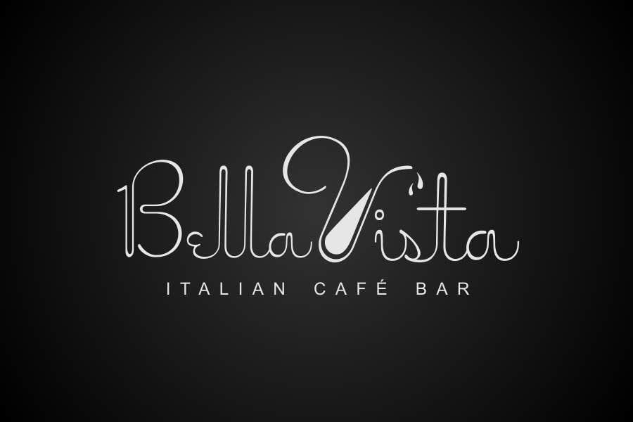 Kilpailutyö #341 kilpailussa Logo Design for Bella Vista -- Italian Café