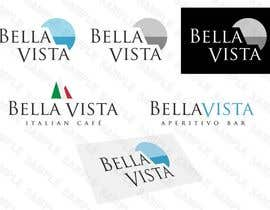 #388 para Logo Design for Bella Vista -- Italian Café por Diametrik