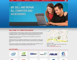 #5 for Website Design for Computer Rehab by tania06