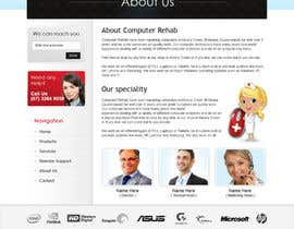 #32 for Website Design for Computer Rehab af brnbhttchry