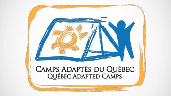 Proposition n°4 du concours Logo Design for Quebec Adapted Camps / Camps Adaptés Québec