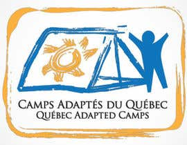 #4 for Logo Design for Quebec Adapted Camps / Camps Adaptés Québec by raffyph1