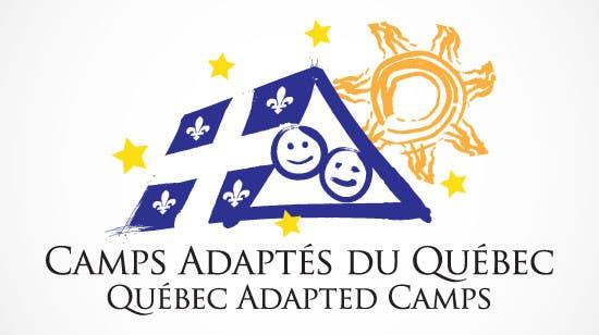 Proposition n°12 du concours Logo Design for Quebec Adapted Camps / Camps Adaptés Québec
