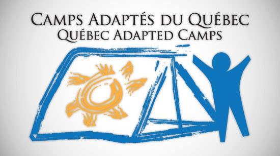 Kilpailutyö #1 kilpailussa Logo Design for Quebec Adapted Camps / Camps Adaptés Québec