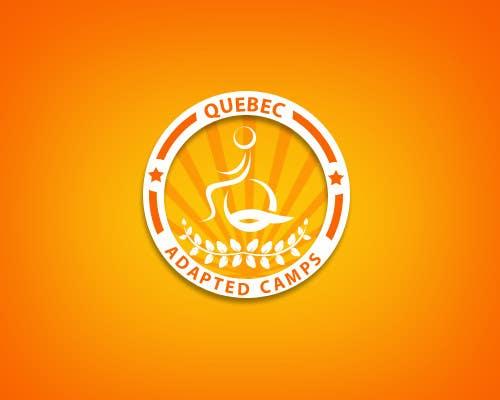 Proposition n°10 du concours Logo Design for Quebec Adapted Camps / Camps Adaptés Québec