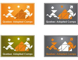 #24 untuk Logo Design for Quebec Adapted Camps / Camps Adaptés Québec oleh sirvasili