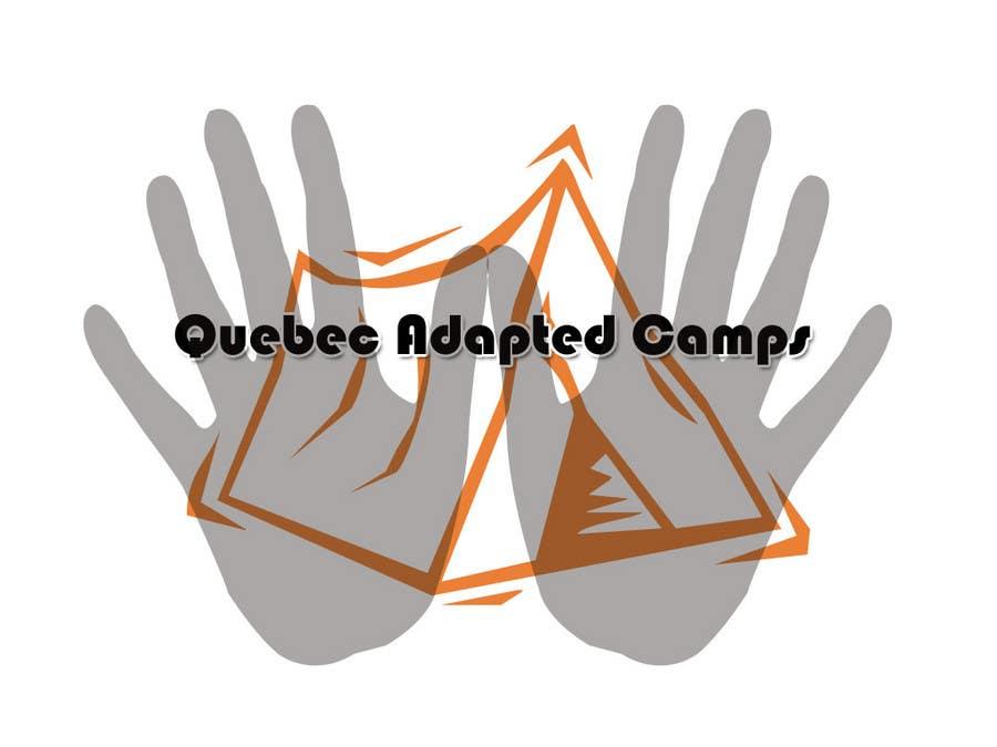 Kilpailutyö #7 kilpailussa Logo Design for Quebec Adapted Camps / Camps Adaptés Québec