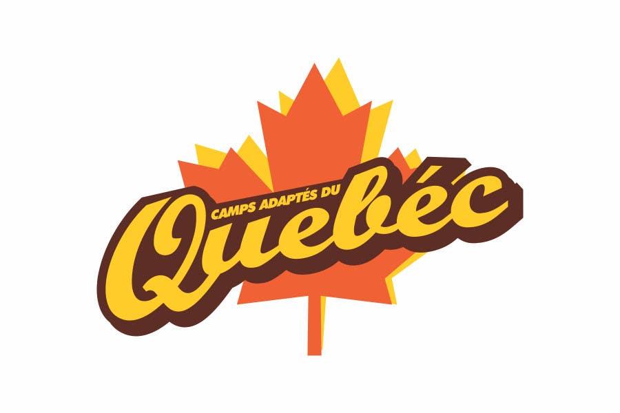 Kilpailutyö #40 kilpailussa Logo Design for Quebec Adapted Camps / Camps Adaptés Québec