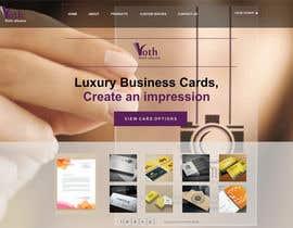 #28 Design a premium print-house website részére chidichuks által