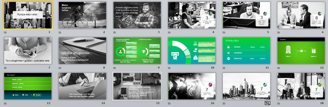 Entry #5 by dimitrijus99 for Graphic Design/PowerPoint ...