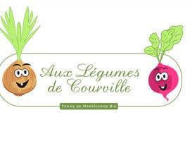 """nº 13 pour Améliorer notre logo """"Aux légumes de Courville"""" par gina2017"""