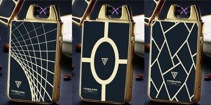 #174 untuk EPIC branded lighter design oleh mahelal94