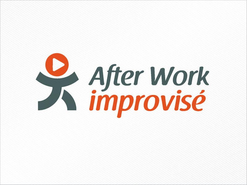 #2 for Logo Design for After Work improvisé by dwimalai