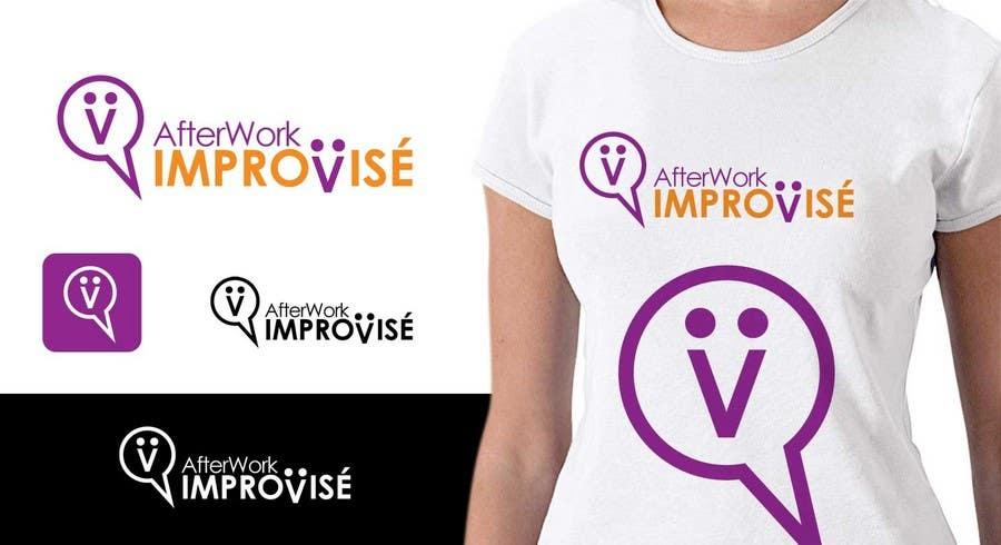 Inscrição nº 1 do Concurso para Logo Design for After Work improvisé