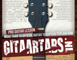 #17 for Flyer Design for Gitaartabs.nl an online guitar community with pro vido lesson and songs af thuanbui