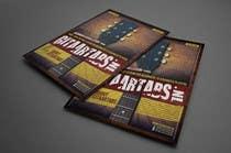 Flyer Design for Gitaartabs.nl an online guitar community with pro vido lesson and songs için Graphic Design14 No.lu Yarışma Girdisi