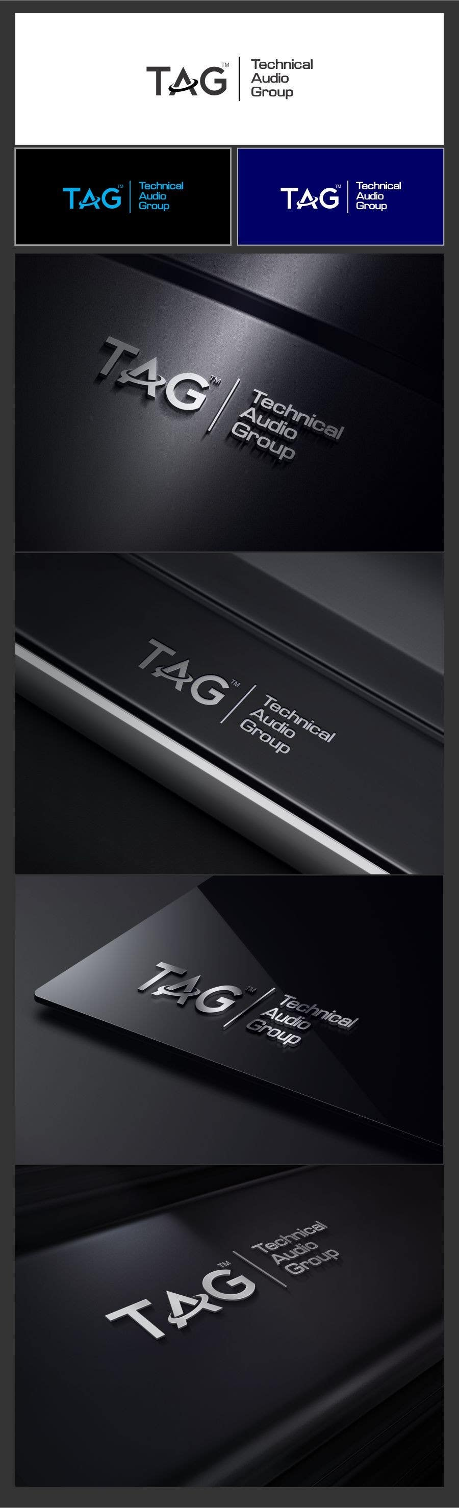 #123 for Logo Design for Technical Audio Group    TAG by timedsgn