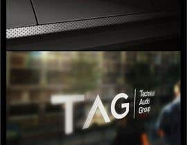 nº 112 pour Logo Design for Technical Audio Group    TAG par timedsgn