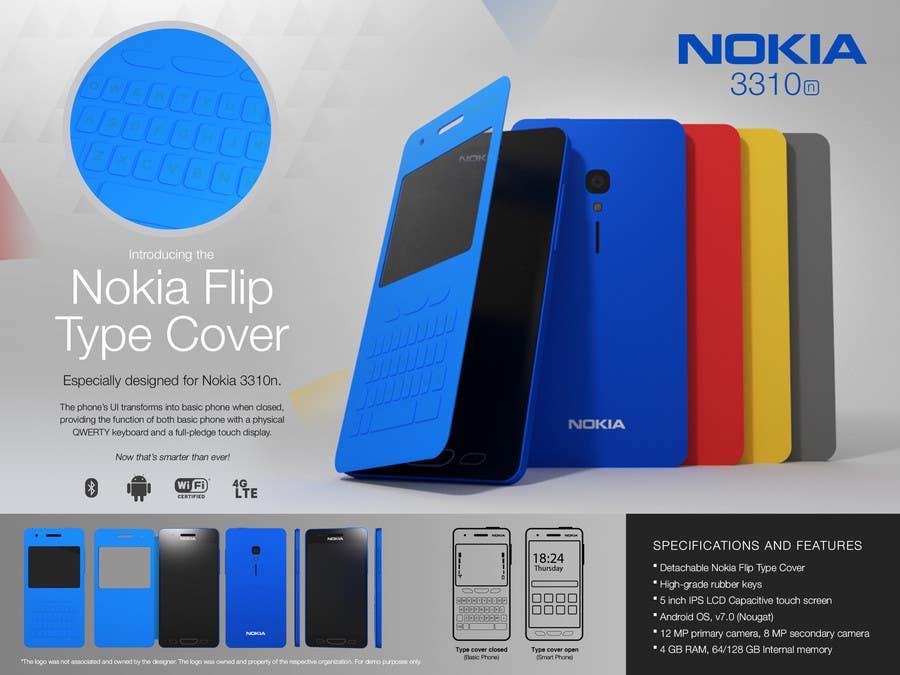 Konkurrenceindlæg #                                        105                                      for                                         Design the Modern Version of the Nokia 3310