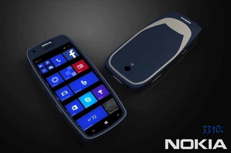 Konkurrenceindlæg #                                        46                                      for                                         Design the Modern Version of the Nokia 3310