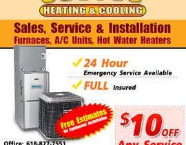 nº 15 pour Design an Advertisement for heating & cooling par LampangITPlus
