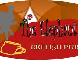#208 untuk Logo Design for The Elephant British Pub oleh lupohunter
