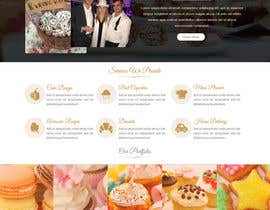 #23 for Design a Website Mockup and corporate identity for cake business af ravinderss2014