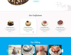 #81 for Design a Website Mockup and corporate identity for cake business af zaxsol