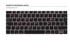 karanjapaul60 tarafından 1 Diseño para teclado de silicona posibilidad de ganar 2 mas en 100 USD ( excel MacOS) için no 16