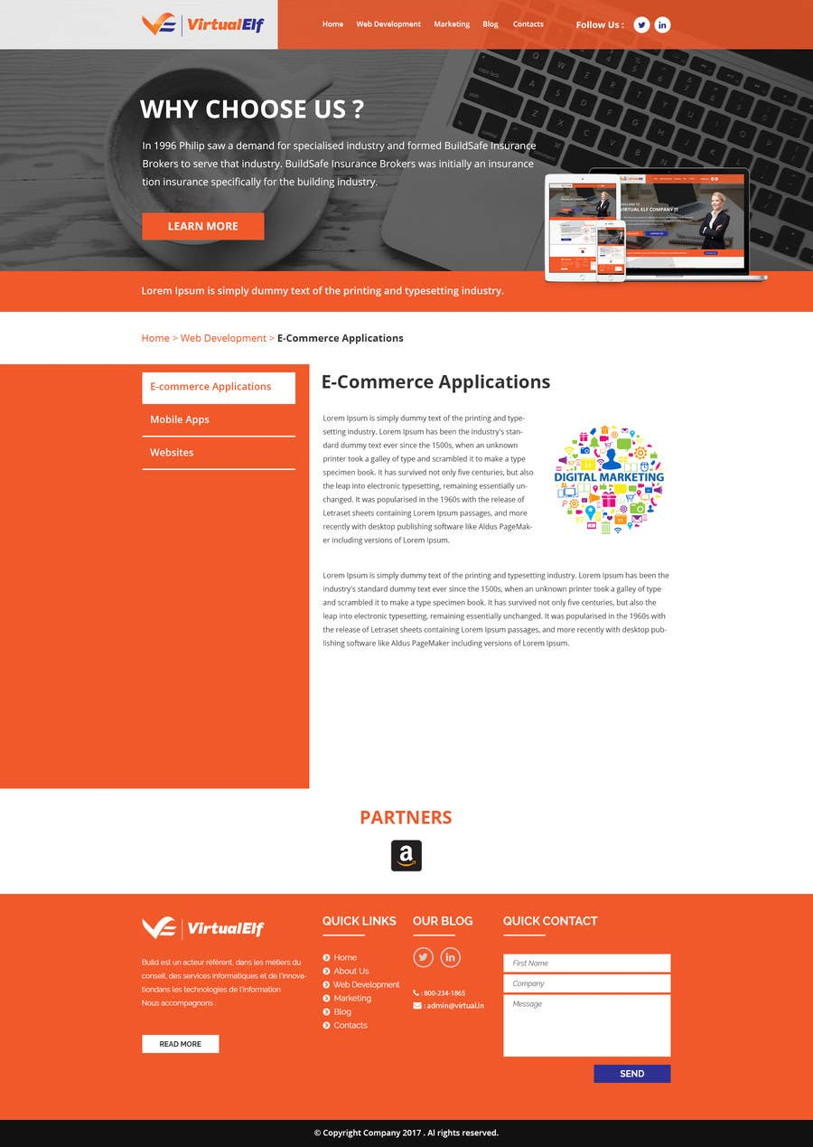 entry 21 by husainmill for design five pages for a website freelancer
