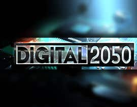 #55 for Design a Logo / Banner for Digital2050 by Kitteehdesign