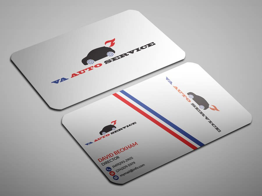 Entry #29 by sahajid000 for Auto Repair Business Logo, Business Card ...