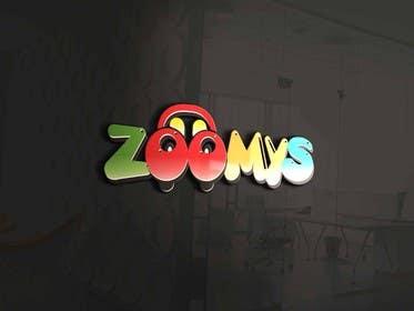 Image of                             Design text logo - ZOOMYS