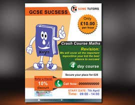 #8 for Design a Tutoring Flyer with logo size A5 by parvezraton
