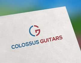 Nro 99 kilpailuun Guitar headstock logo for Colossus Guitars käyttäjältä AbirFreelanc