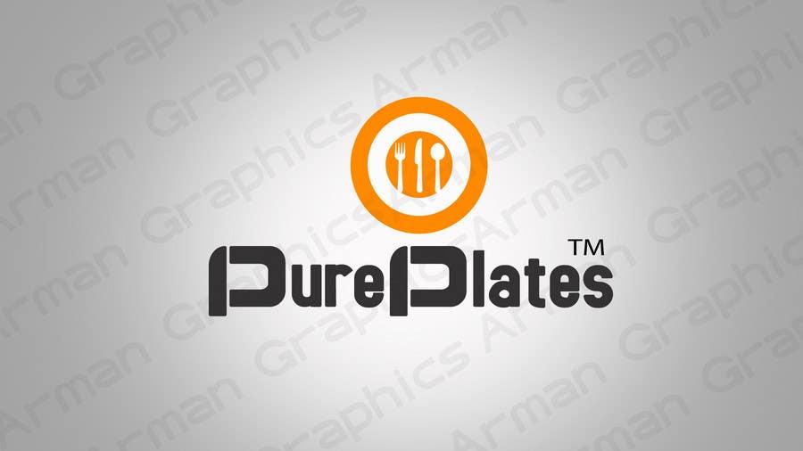 "Konkurrenceindlæg #267 for Logo Design for ""Pure Plates ... Inspired Eating"" (with trade mark bug)"