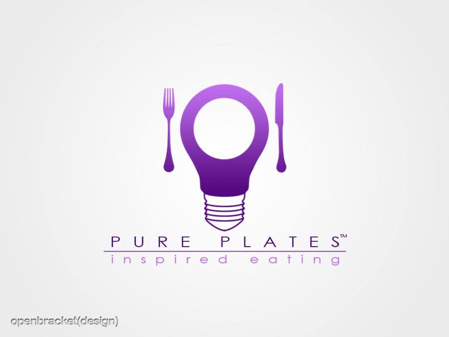 """Inscrição nº 414 do Concurso para Logo Design for """"Pure Plates ... Inspired Eating"""" (with trade mark bug)"""