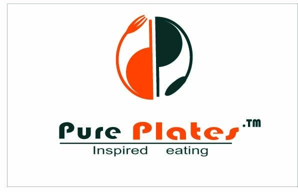 """Proposition n°335 du concours Logo Design for """"Pure Plates ... Inspired Eating"""" (with trade mark bug)"""