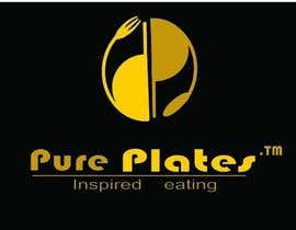 "#393 para Logo Design for ""Pure Plates ... Inspired Eating"" (with trade mark bug) por anjaliom"