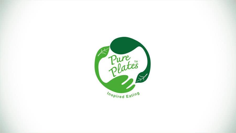 "Konkurrenceindlæg #250 for Logo Design for ""Pure Plates ... Inspired Eating"" (with trade mark bug)"