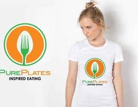 "#284 para Logo Design for ""Pure Plates ... Inspired Eating"" (with trade mark bug) por IzzDesigner"