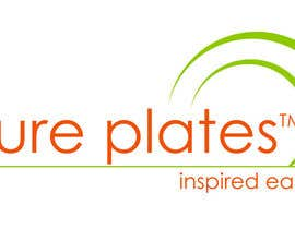 "#260 para Logo Design for ""Pure Plates ... Inspired Eating"" (with trade mark bug) por febby1251"
