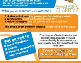 #112 cho Flyer Design for Manage With Clarity bởi McFOX
