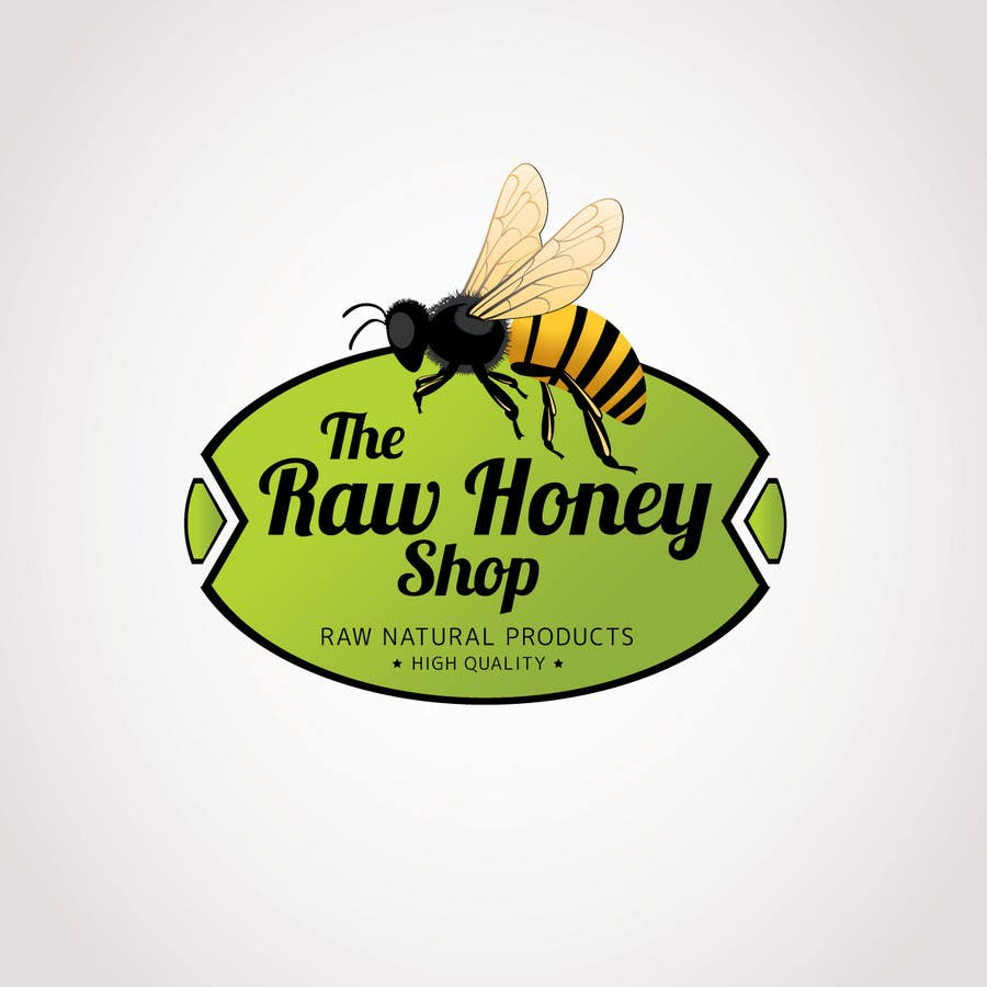 #168 for Logo Design for The Raw Honey Shop by Ollive