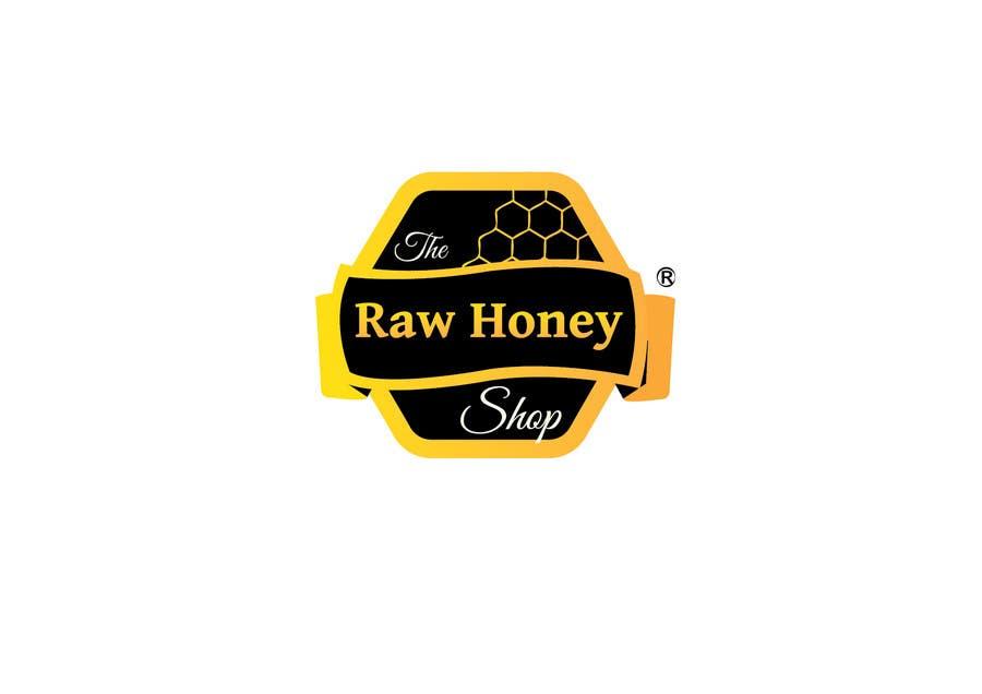 Proposition n°                                        411                                      du concours                                         Logo Design for The Raw Honey Shop