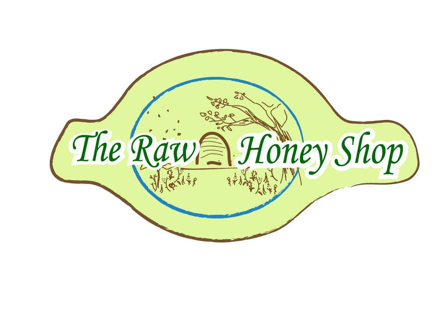 #201 for Logo Design for The Raw Honey Shop by bava32
