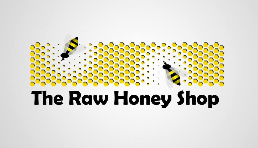 Proposition n°                                        278                                      du concours                                         Logo Design for The Raw Honey Shop